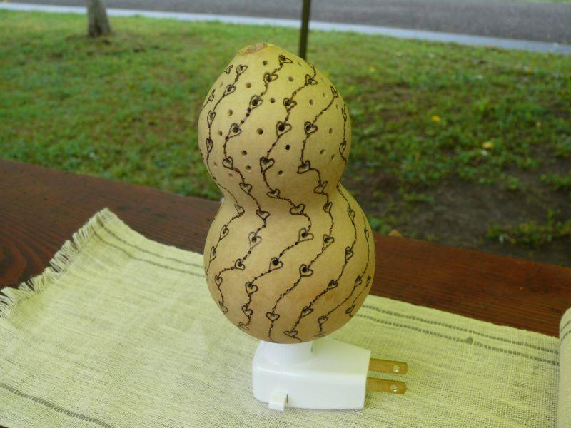 画像2: ひょうたんランプF