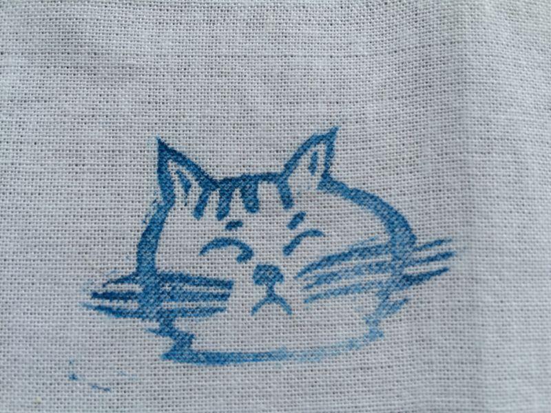 画像3: 手拭い(猫)