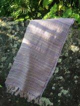 絹手紡ぎストールE