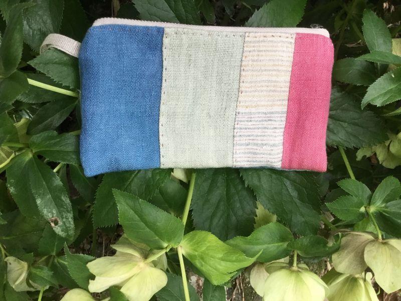 画像1: ヘンプ長財布