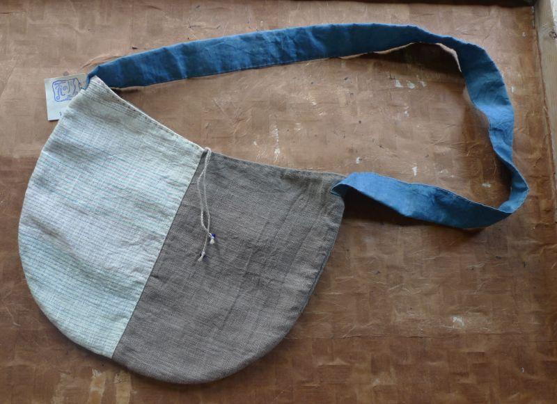 画像1: 丸型ショルダーバッグ